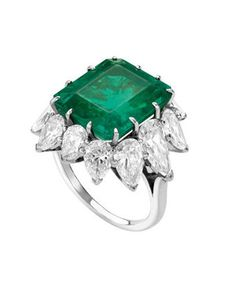 Bvlgari Vintage Emerald Ring Profile Photo