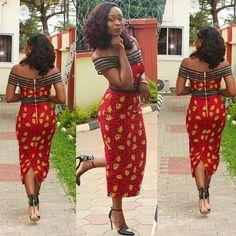 Robe d\u0027Ankara. Robe imprimée africain. par MeAyraba sur Etsy