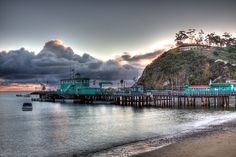 The Green Pier, Catalina Island by Eugene Ramos on 500px