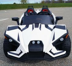 Ride on Battery Powered Electric Car With RC Slingshot Polaris Style Kids Toys for sale online Kids Ride On Toys, Cool Toys For Boys, Toy Cars For Kids, Toys For Girls, Kids Toys, Polaris Slingshot, Slingshot Car, Arma Nerf, Kids Power Wheels