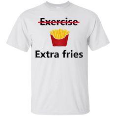 Hi everybody!   extra fries T-shirt https://lunartee.com/product/extra-fries-t-shirt/  #extrafriesTshirt  #extraTshirt #friesTshirt