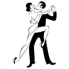 Resultado de imagen para vector pareja tango