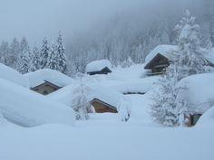 Deep deep down ... Chamonix, Alps,  France 21 January 2012