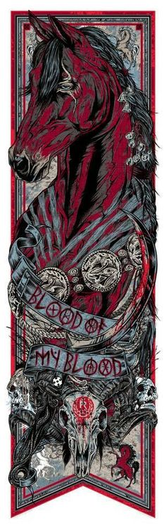 Rhys-Cooper-Game-Of-Thrones-BLOOD-OF-MY-BLOOD-Stallion-Call-the-Banner-Series-2