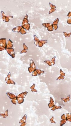 Anyone want to join the group? Wallpaper Pastel, Butterfly Wallpaper Iphone, Cute Patterns Wallpaper, Fall Wallpaper, Iphone Background Wallpaper, Disney Wallpaper, Wallpaper Quotes, Wallpaper For Iphone, Beautiful Wallpaper