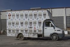 Punk Trucks- Aryz, 2014 featuring San and Sixe