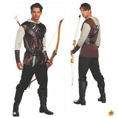 Robin Hood Kostüm für Fasching und Mottoparty