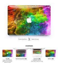 Laptop skin Macbook Skin Macbook Pro cover Macbook Air decal laptop Macbook Sticker Laptop Cover vinyl Skin Colorful Rainbow Indian Holi by Keyshorts on Etsy https://www.etsy.com/listing/249217128/laptop-skin-macbook-skin-macbook-pro