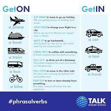 Resultado de imagen de driving phrasal verbs