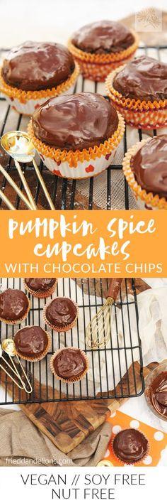 Pumpkin Spice Cupcak