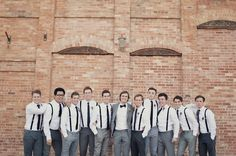 stylish, classic & relaxed groom & groomsmen attire http://su.pr/2eRvZn
