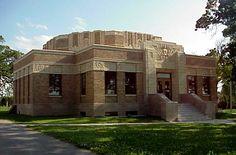#ArtDeco | Tulsa Fire Alarm Building, East 8th Street, Tulsa, Oklahoma. Designed by Frederick V. Kerchner, 1934.