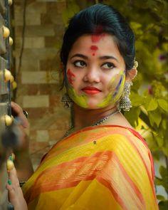Holi, Saree, Cute, Beauty, Fashion, Moda, Fashion Styles, Sari, Kawaii