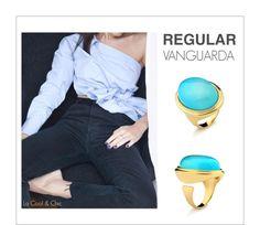 anel azul