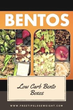 Low Carb Bento Boxes! Healthy Keto Recipes! Low Calorie Vegan, Low Carb Keto, Low Carb Recipes, Cooking Recipes, Healthy Recipes, Cooking Tips, Diabetic Lunch Ideas, Diabetic Meals, Ma Pizza