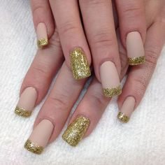 """""""Dipping your fingers in gold feels just that good """" Photo taken by @professionalnailss on Instagram, pinned via the InstaPin iOS App! http://www.instapinapp.com (01/06/2016)"""