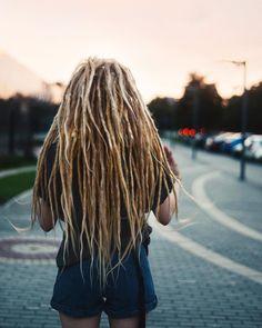 Dreads Dreadlocks Hair Hair pink Girl Summer Photographer