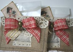 treat bag or gift card holder