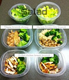 meal plans for eating healthy and building muscle.
