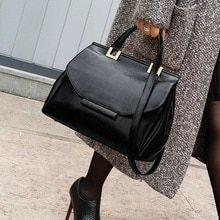 ba8c5b87cf5 Vintage Female Bags Fashion Tote Bag Top Quality Leather Handbags Big Size  Casual Clutch Shoulder Crossbody Bag Casual(China) #leatherpursesandhandbags
