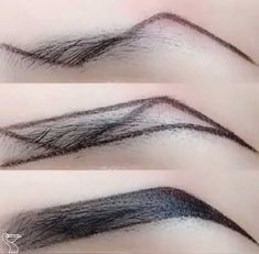 Accessoires Z-Typ Augenbrauen Make-up-Technik Makeup Makeup Techniques eyebrows Eyebrow Makeup Tips, Makeup Tutorial Eyeliner, Eye Makeup Steps, Eyebrow Tutorial, Makeup Videos, Makeup Eyebrows, Perfect Eyebrows Tutorial, Eye Brows, How To Do Eyebrows