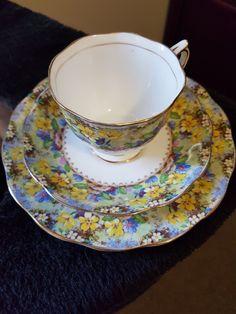 ROYAL ALBERT ~ My Secret Garden My Secret Garden, Royal Albert, Tea Cups, China, Tableware, Collection, Dinnerware, Dishes, Tea Cup