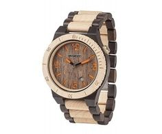Alpha Wooden Watch @AwsomeGeekStuff
