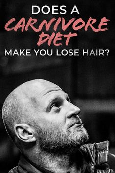 Someone said the carnivore diet made their hairline decide and lose more hair follicles and others said the all meat diet made their hair stronger!  So what's the deal?  In reality both situations can happen and try to show why this could be a possibility in our article at Wild Lumens! #hairloss #hair #bald #carnivordiet #diet #dietplan #plan #keto #ketosis #ketogenic #paleo Meat Diet, Going Bald, Easy Diets, Sleep Problems, Diets For Beginners, Good Energy, Strong Hair, How To Stay Motivated, Diet Tips