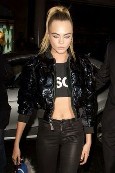 How to Chic: CARA DELEVINGNE AT FENDI STORE OPENING