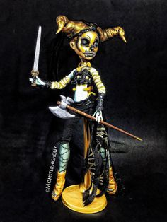 Osiris Egyptian Tomb Guard of the Dead by TheDollarium on Etsy