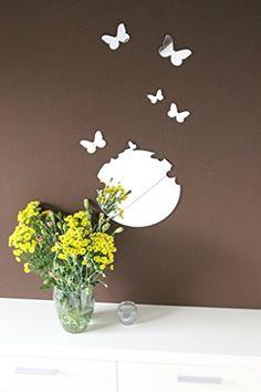 """Butterfly"" 3D Wandtattoo aus Spiegelacryl Wanddeko CHRISCK design http://www.amazon.de/dp/B0100TF6A4/ref=cm_sw_r_pi_dp_ljOJvb0NY61ZQ"