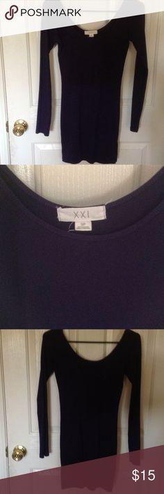 NWOT Cute tight dress 95% Cotton 5% Elastane Forever 21 Dresses Long Sleeve