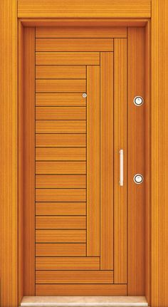 Top 50 Modern Wooden Door Design Ideas You Want To Choose Them For Your Home - E . Top 50 Modern Wooden Door Design Ideas You Want To Choose Them For Your Home - Engineering DiscoveriesIndividual entrance doors or room doors made of . Flush Door Design, Single Door Design, Wooden Front Door Design, Wooden Front Doors, House Main Door Design, Bedroom Door Design, Door Design Interior, Kerala, Modern Wooden Doors
