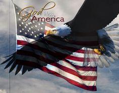 Image result for GOD Bless america GOLD Bald eagle