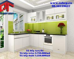 Tủ bếp hiện đại tại Tủ Bếp Xinh vừa đảm bảo tính công năng lại có tính thẩm mỹ cao.