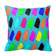 Popsicles Pillows