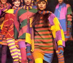 41468e1d09 Kenzo Fashion Show, Fall/Winter 1986 Fashion Brands, Retro Fashion, High  Fashion