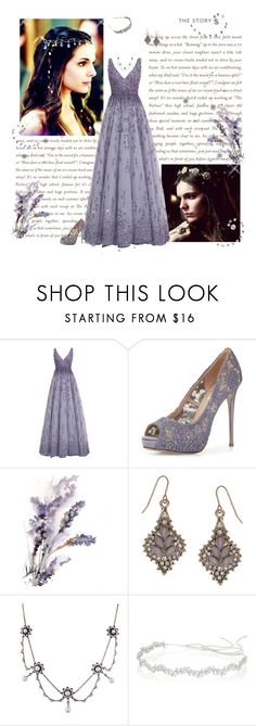 """""""Reign - Lady Kenna"""" by greerflower ❤ liked on Polyvore featuring Monique Lhuillier, Valentino, Accessorize, Jennifer Behr and BCBGMAXAZRIA"""