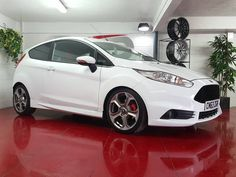 This little gem arrived into stock yesterday these ST180's are now incredible value and this one is priced at just 9999. This is the first sub 10k Fiesta ST we've had so we encourage to move fast if this is within your budget this immaculate car has a great spec it's the ST2 variant with climate control & sat nav which were cost options the mileage is 36000 and its comes with a full Ford service history a Scorpion exhaust is also fitted to give a great sounding note!