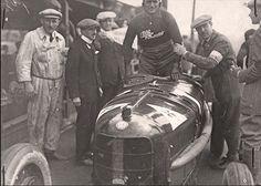 GP of Italy 1924 (Monza) , Alfa romeo P2 #1 , Driver Antonio Ascari , codriver Giulio Ramponi , winner first place overall