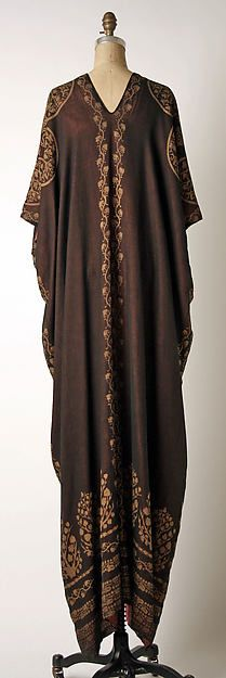 Ensemble (image 4) | Mariano Fortuny | Italian | 1920 | silk, cotton, glass | Metropolitan Museum of Art | Accession Number: 1984.609a, b