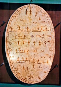 shaman drum from northern finnland, saami people!