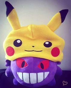 Gengar copying mimikyu disguised as pikachu - #pokemon #pokemoncards #pokemoncollector #pokemoncollection #pokemon20 #pokemongo #nintendo #nerdlife #nerd #anime #pokemontcg #pokemonsunandmoon #tcg #kawaii #pokemonart #pokemonplush #pokemoncommunity #otaku #gamergirl #otakugirl #pokecommunity #chuclan #pokemonoras #pokemonxy #oras #gengar #pika #pikachu