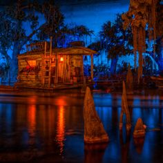 Pirates of the Carribbean & The Blue Bayou Restaurant :-)