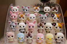 The Most Fun Crafts - Outdoor Click Fimo Kawaii, Polymer Clay Kawaii, Polymer Clay Animals, Polymer Clay Charms, Polymer Clay Creations, Kawaii Doll, Cute Crafts, Crafts For Kids, Kawaii Crafts