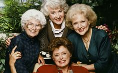 Tv best friends we all want to be bffs with in real life - best friends on television Estelle Getty, Tv Theme Songs, Tv Themes, Betty White, Videos Tumblr, Great Tv Shows, Golden Girls, Friend Pictures, Bffs