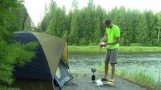13th short video documenting my 1100 km walk in 2013. I start my day after finding a great out of the way camping spot by the Kettle River, near the village of Christina Lake BC. I think I was trespassing judging by the very vocal complainer!
