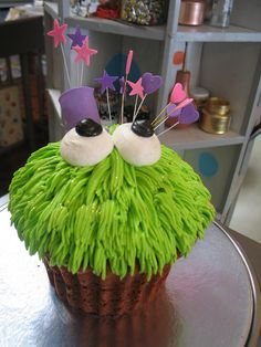 giant monster cupcake
