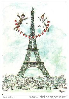raymond peynet illustrations - Google Search