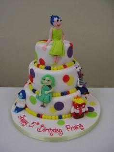 Disney Pixar's Inside Out inspired #Birthdaycake